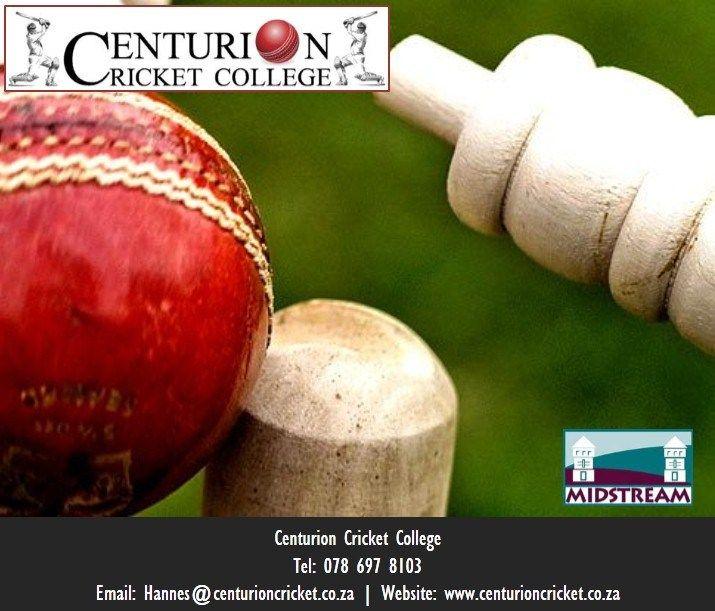 Centurion Cricket Club provides professional cricket training in Midstream, Centurion, South Africa