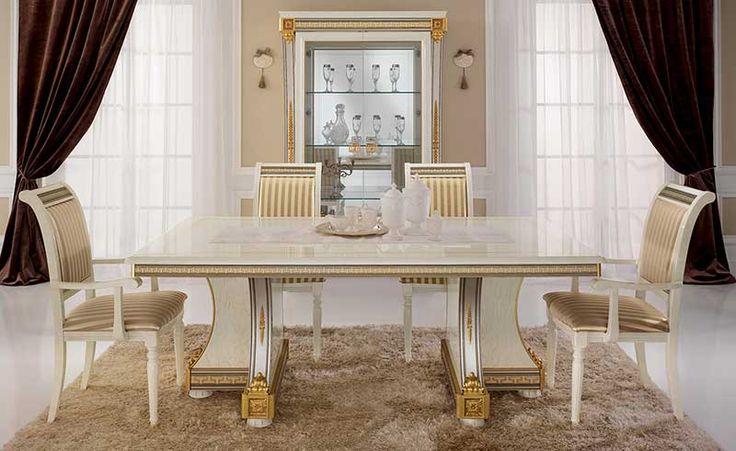Một số mẫu bàn ghế ăn tân cổ điển phổ biến hiện nay