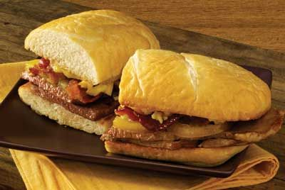 Here's a great recipe for leftover steak, or even if you're just a BLT lover who would like a little extra meat-- the bacon steak and tomato sandwich, brought to you by Certified Angus Beef.