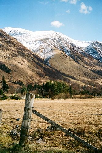 Ben Nevis, Scotland...the highest mountain in the British Isles, located in Scotland, near Fort William...