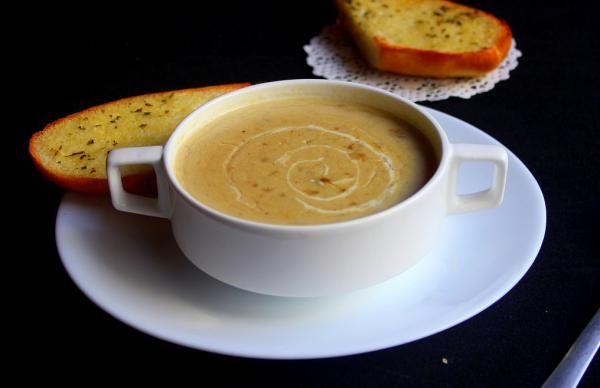 Aprenda a preparar esse caldo de inhame saboroso! #comida #receita #inhame #caldo #sopa