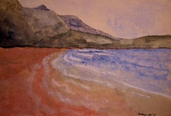 Watercolor Coast 1