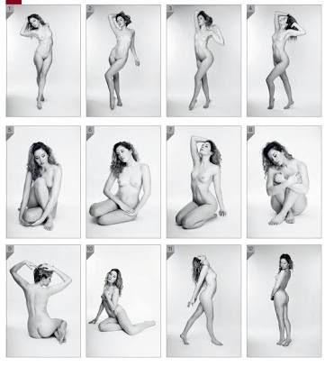 Resultado de imagen para centerfold poses