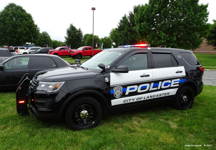 Lancaster County, Pennsylvania, City of Lancaster Police Department Ford Police Utility Interceptor.