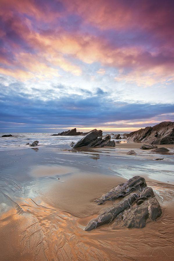 Sunset at Whitesand Bay #BeautifulNature #Reflections #NaturePhotography #Nature #Photography #Sunsets