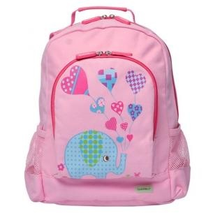 Bobble Art Large Canvas Backpack - Elephant    Price: $44.95    Bobble Art Elephant Canvas Backpack - guaranteed to delight any little girl! Great size for kinder, day care, school and sports gear!!    Premium quality backpack made from soft and durable canvas material. It's cool, fun and a great gift for any little child.