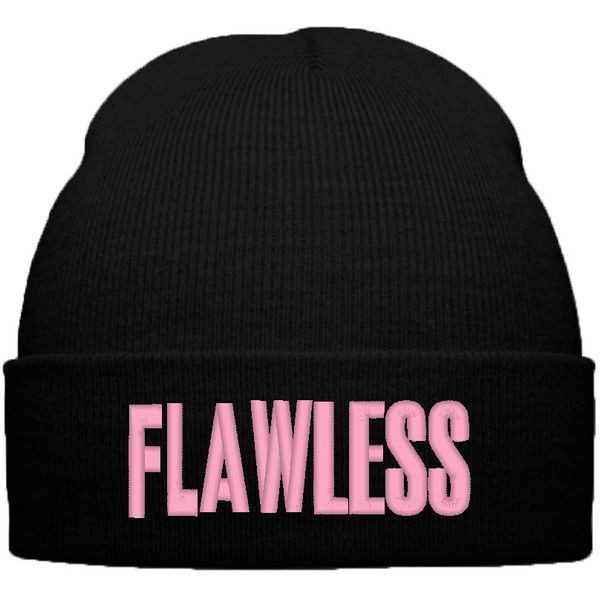 BEYONCE FLAWLESS BEANIE WINTER HAT found on Polyvore
