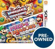 Puzzle & Dragons Z + Puzzle & Dragons Super Mario Bros. Edition - PRE-Owned - Nintendo 3DS|Nintendo 2DS|Nintendo 3DS XL