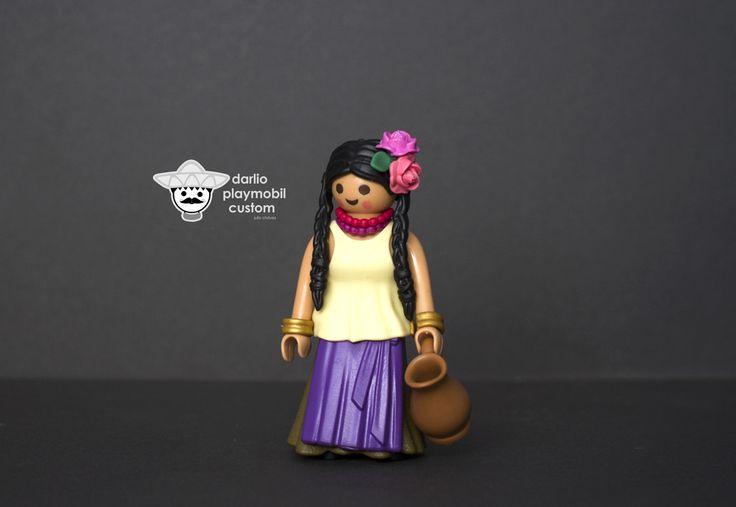 Playmobil custom Mexicana