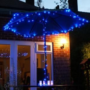 Azul Outdoor Led Cadeia Solar Natal Luz Decor €28.99