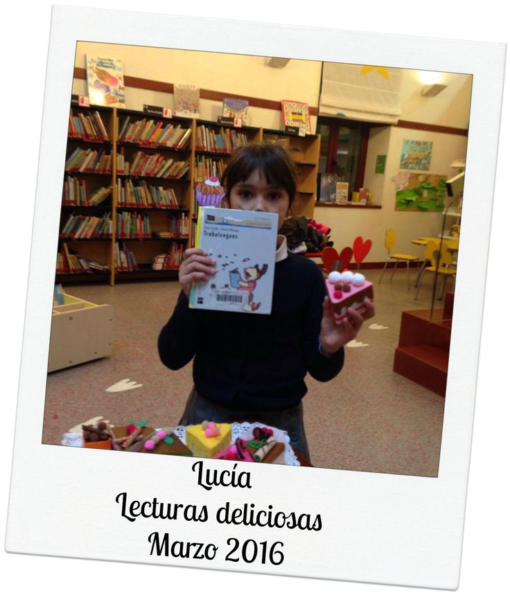 #Lecturas deliciosas del mes de marzo con Lucía. #Biblioteca Manuel Alvar (Zaragoza).