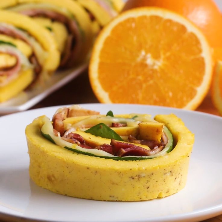 Loaded Egg Breakfast Roll