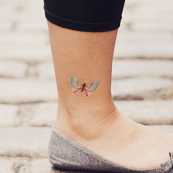 White Butterfly Tattoo on Pinterest | Butterfly Tattoos 3d Butterfly ...