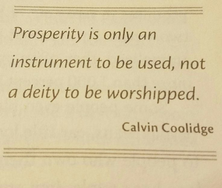 Quote by Calvin Coolidge
