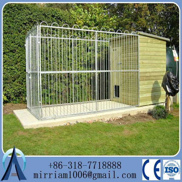 Source large heavy duty galvanized dog cage for sale ,large animal crate dog boarding kennel cages on m.alibaba.com