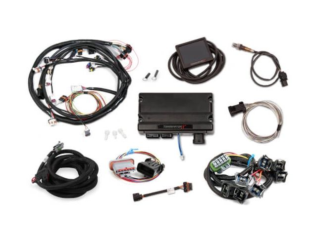 Holley Efi Terminator X Mpfi Kit W Ev1 Injectors 1978 1993 Mustang 550 937f Holley Efi Terminator Holley