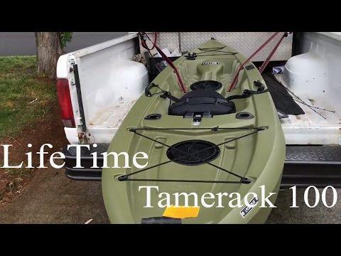 """Lifetime Tamarack 100 10' Angler Kayak Review """"The Bass Nutt"""" - YouTube"""