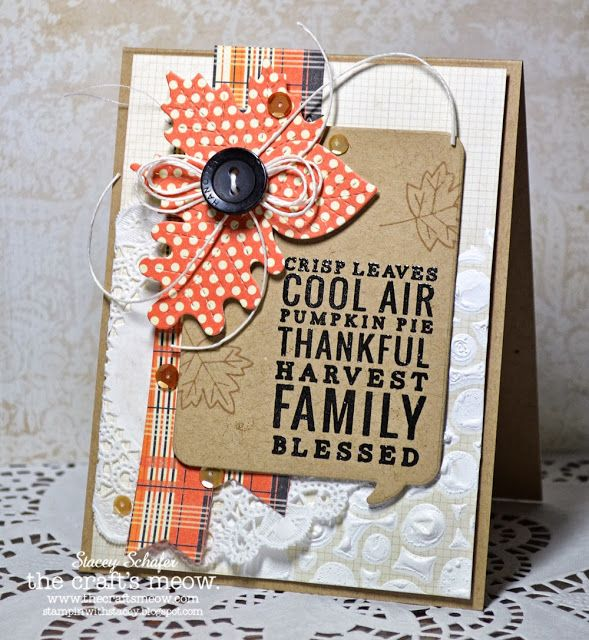 thanksgiving craft cards