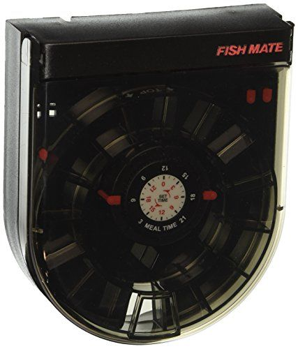 buy now   									£23.98 									  									This versatile feeder may be mounted on the aquarium hood or on the glass edge of the aquarium with the brackets provided. The Fish Mate F14 is  ...Read More