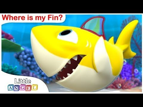 Let's catch fish! Pink Fong Shark Family Fishing Play transforming baby car! - PinkyPopTOY - YouTube