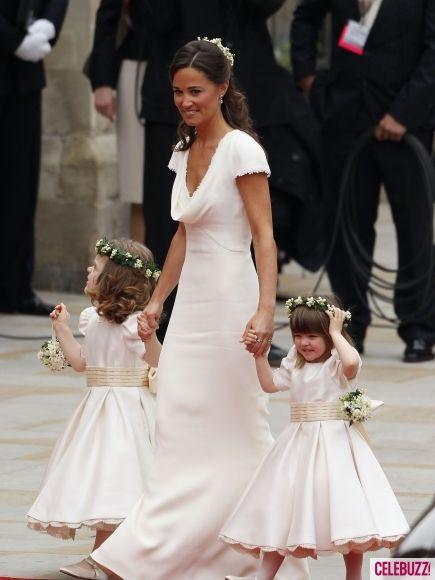 Bridesmaid dress: Pippa Middleton at Royal Wedding