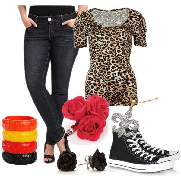 """get the look - rockabilly chic"" by onceuponanovel on Polyvore"