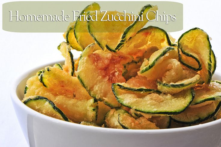You don't need to get fancy with snacking, but bonus points if you do! Instead of putting out yet another bag of potato chips, impress your fellow party people with homemade zucchini chips fried Homemade Fried Zucchini Chips Recipe from Romscratchtoplate Ingredients: 4 cups water 1/8 cup salt 2-3 zucchinis oil for frying Steps:  …
