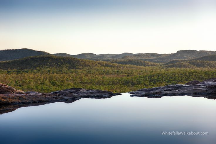 Timeless The view from the pool at the top of the eighty five metre waterfall at Gunlom in Kakadu National Park in the Northern Territory of Australia