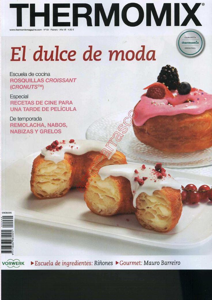 Revista thermomix nº64 el dulce de moda