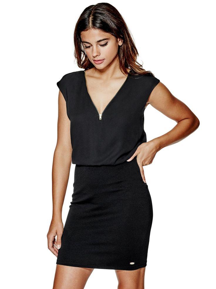 Tayania Surplice Dress