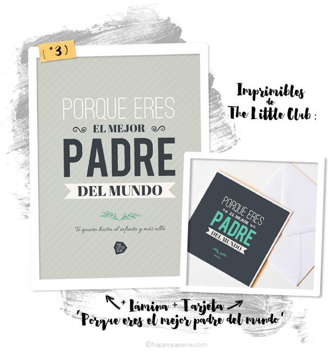 IMPRIMIBLES ORIGINALES PARA EL DÍA DEL PADRE