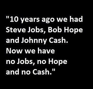 Clever but unfortunately true :( #steve #jobs