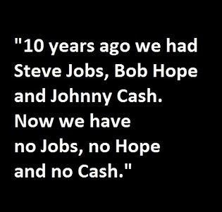 Clever but unfortunately true :( #steve #jobs