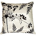 Spring Flower and Ferns Small Throw Pillow   Overstock.com