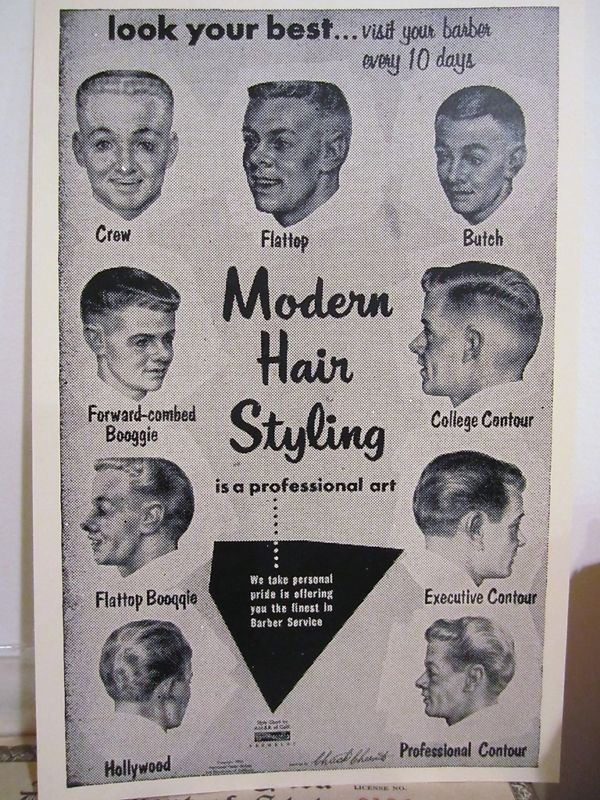 97 Amazon Com 061hsm Barber Poster Men S Hairstyles Beauty Haircut