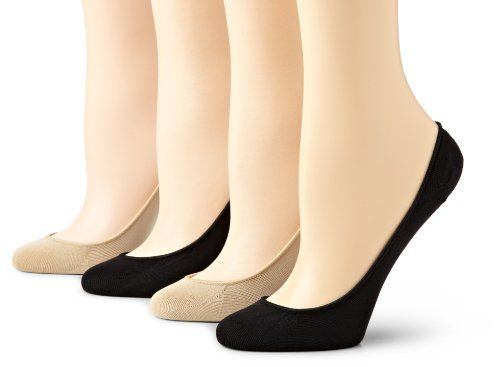 HUE Womens No-Show Low-Cut Sock Liners