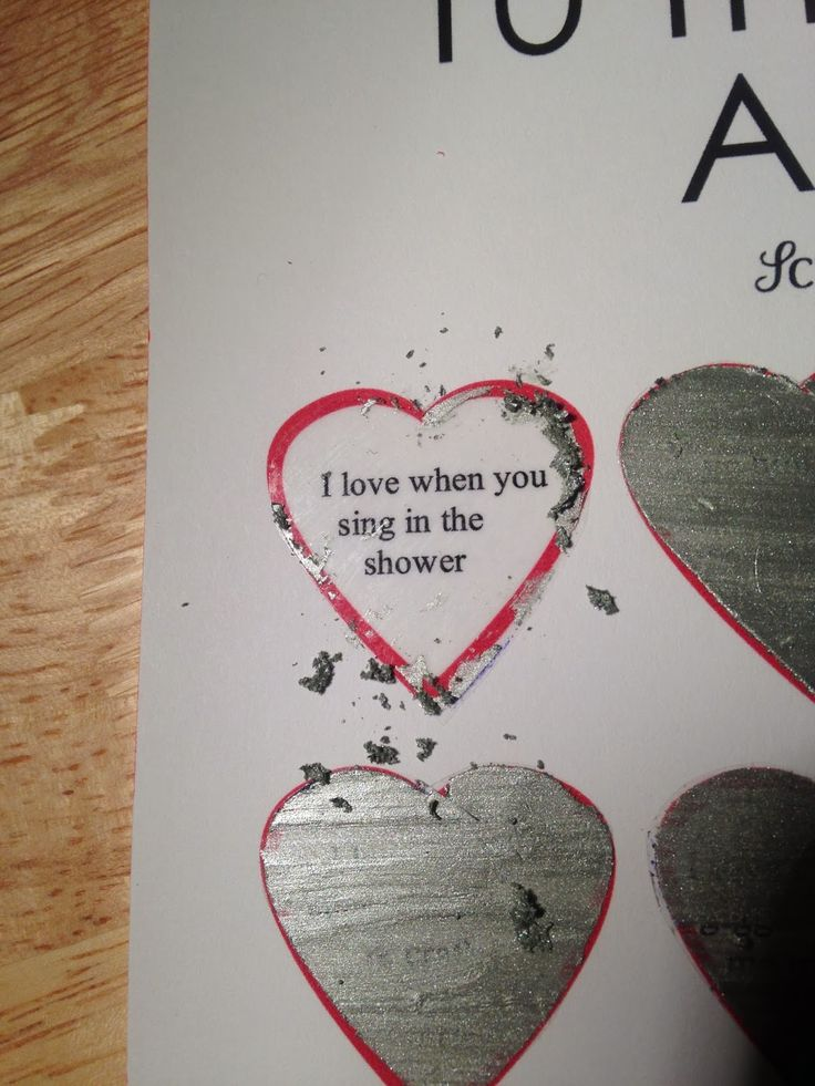 How To How Hard And How Much DIY Scratch Off Valentine