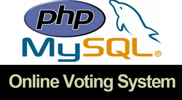 Online Voting System in PHP/MySQLi (Tutorial)