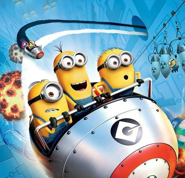 Minions should never be left alone for very long or they will get into mischief.