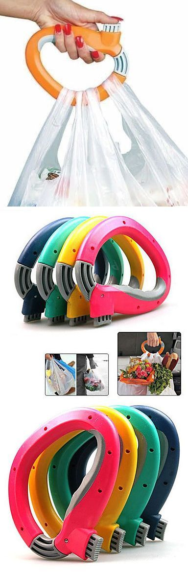 One Trip Grip Grocery Bag Holder - Genius! #product_design #industrial_design