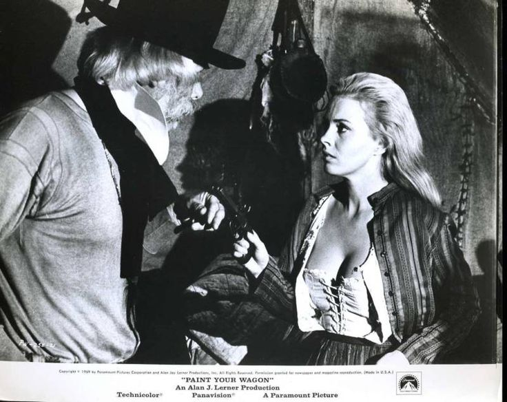 Paint Your Wagon Jean Seberg Lee Marvin Western Movies