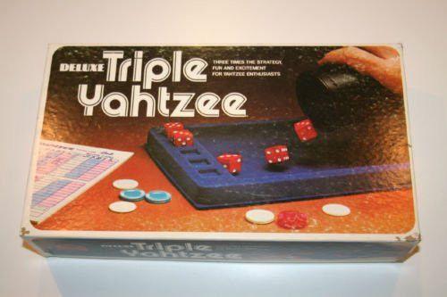 how to play triple yahtzee
