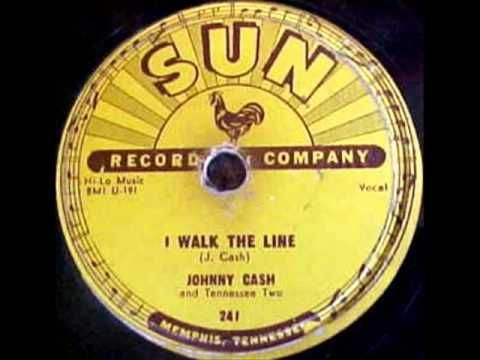 Johnny Cash - I Walk The Line, 1956 Sun 78