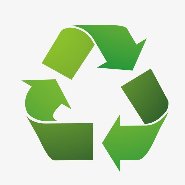Vector Recycle Icon Green Environmental Protection Recycle And