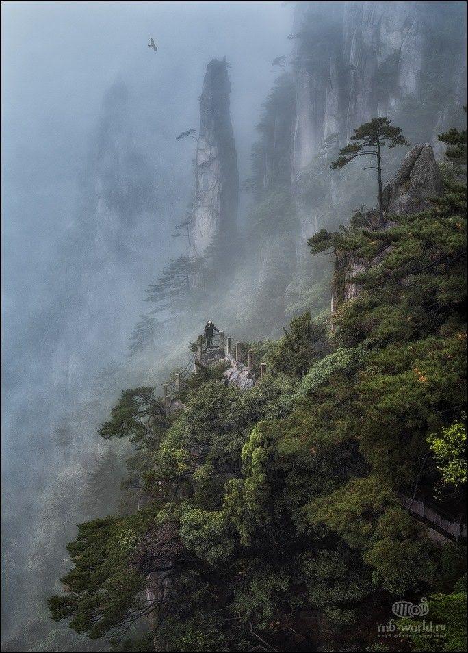 «Затерянный мир Хуаншань». Китай. Автор фото: Михаил Воробьев.