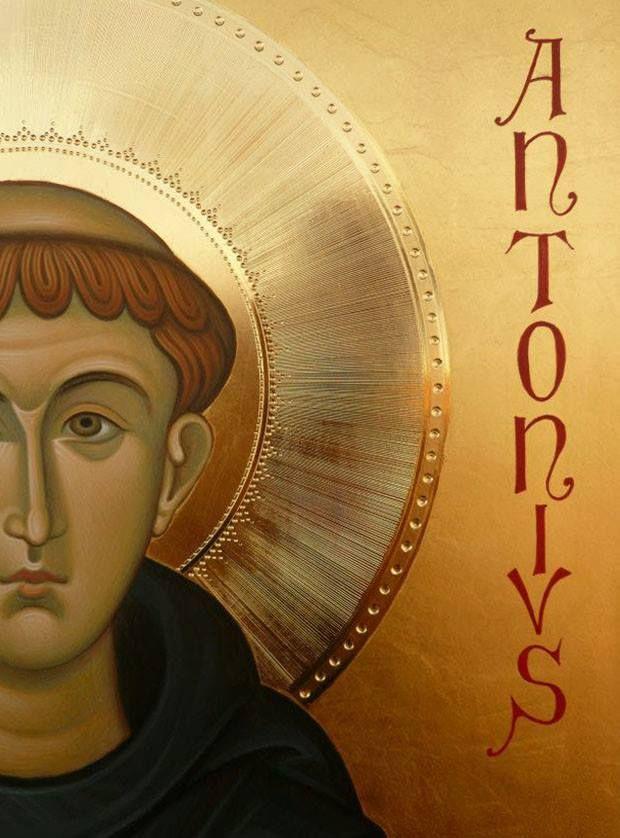 doratura San Antonio da Padova del maestro Antonio De Benedictis