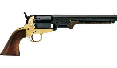 Colt 1851 Navy Revolver  http://en.wikipedia.org/wiki/Colt_1851_Navy_Revolver