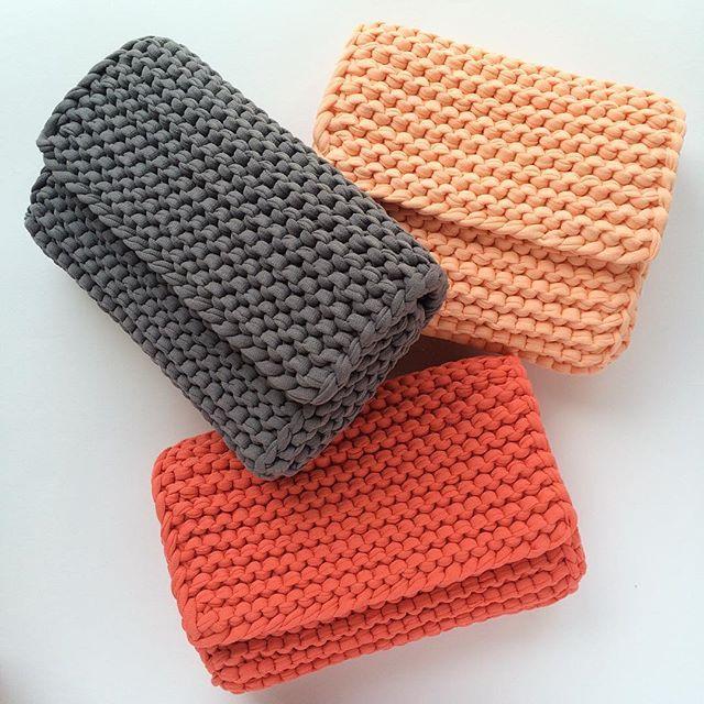 Handmade bag Trapillo/ T-shirt Crochet