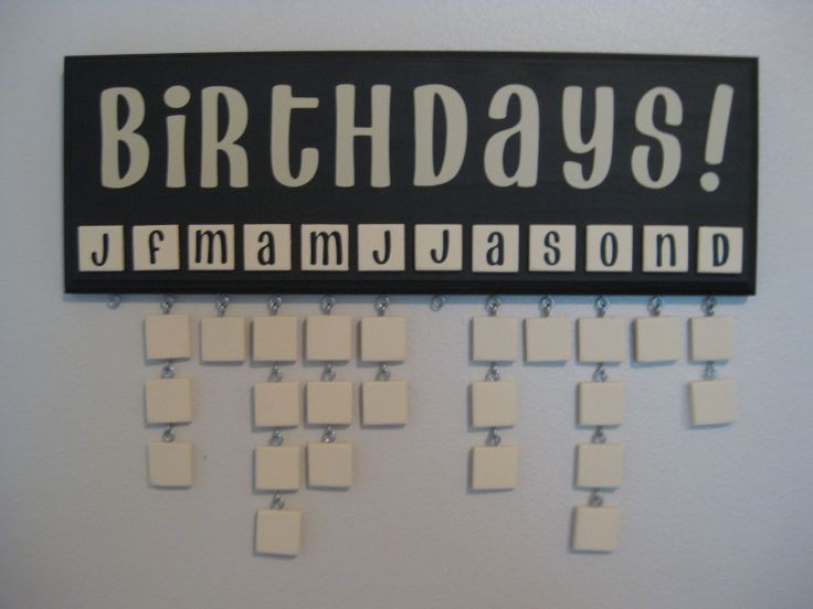 What a great idea....add the name and the date on each tile!!!