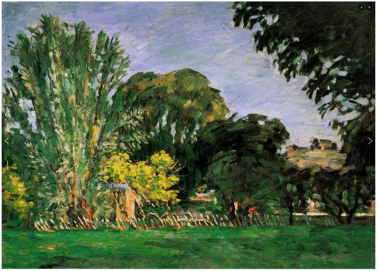 Paul Cézanne (Fr.1839-1906),Bosquet au Jas de Bouffan,1875-76, huile sur toile, 54 x 73cm, coll. privée